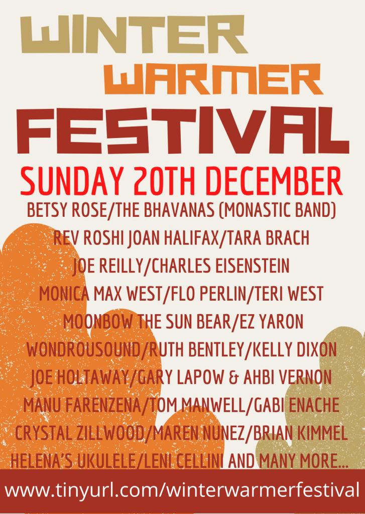 Winter Warmer Festival, Sunday 20th December
